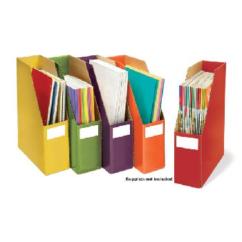 Sensational Classroom Essential Storage Files - Set of 5