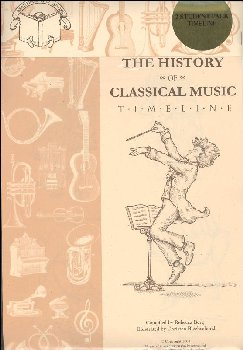 History of Classical Music 2-Timeline Pack