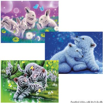 Furry Friends Puzzles (Assorted Style) 100 Piece