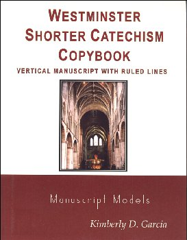 Westminster Catechism Copybooks, HWT Style Manuscript, Ruled Lines