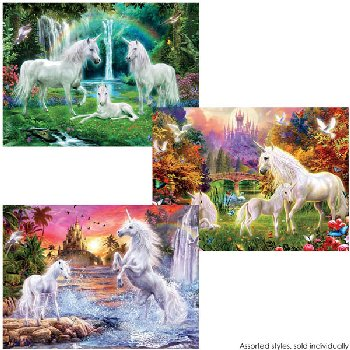 Unicorns Puzzle (Assorted Style) 100 Piece
