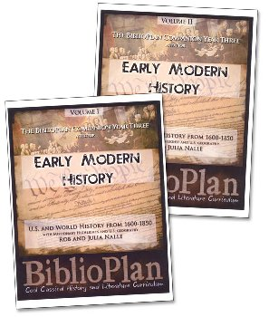 BiblioPlan: Early Modern History Companion - 2 Book Set (America & World from 1680-1850)