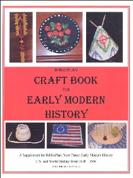 BiblioPlan: Early America & World (1680-1850) Craft Booklet