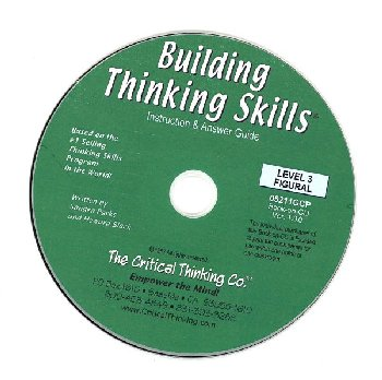 Building Thinking Skills Level 3 Figural Teacher's Book-On-CD Grade 7-12+