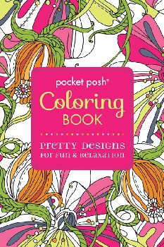Pocket Posh Coloring Book Pretty Designs for Fun & Relaxation