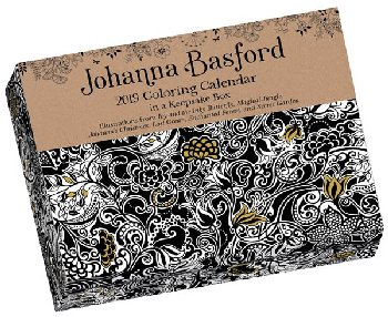 Johanna Basford Day-to-Day 2020 Coloring Calendar