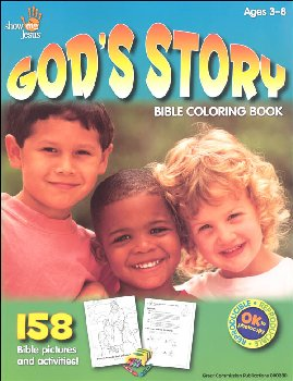 God's Story Bible Coloring Book