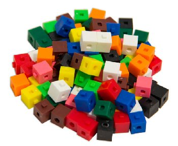 Interlocking Centimeter Cubes (bag of 100)