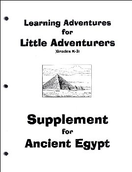 Supplement for Little Adventurers: Ancient Egypt