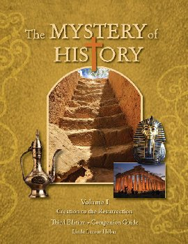 Mystery of History Volume 1 Companion Guide (Print)