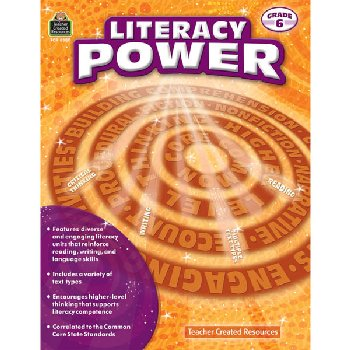 Literacy Power Grade 6