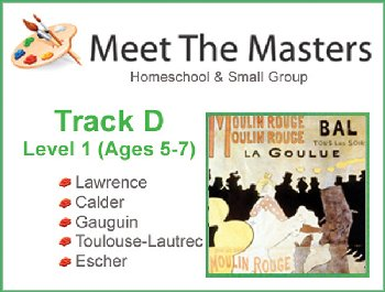 Meet the Masters @ Home Track D Ages 5-7