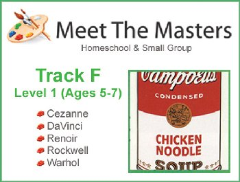 Meet the Masters @ Home Track F Ages 5-7