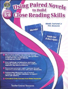 Using Paired Novels to Build Close Reading Skills Grades 5-6