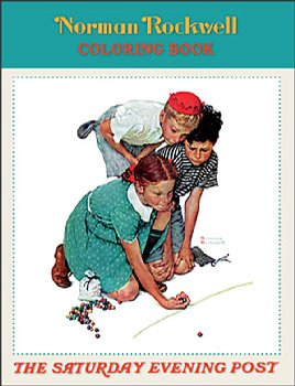 Norman Rockwell: The Saturday Evening Post Coloring Book