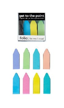 Get to Point Magnetic Bookmarks Box of 20 Pastels