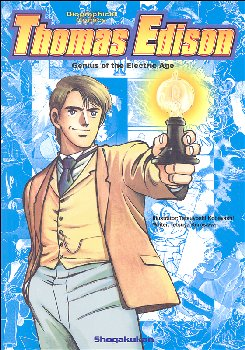 Thomas Edison Genius of the Electric Age (Biographical Comics)