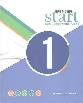 Well Planned Start Parent Assessment/Student Placement Test Grade 1
