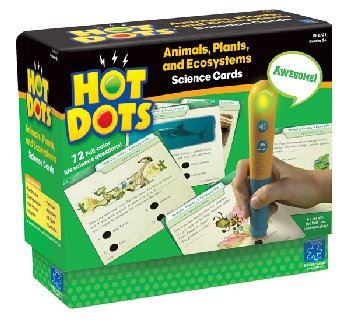 Hot Dots Science Cards - Animal, Plants, and Ecosystems