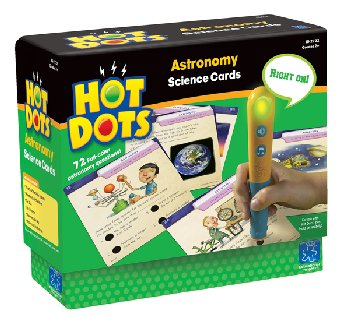 Hot Dots Science Cards - Astronomy