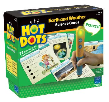 Hot Dots Science Cards - Earth and Weather