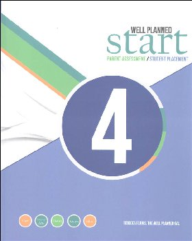 Well Planned Start Parent Assessment/Student Placement Test Grade 4