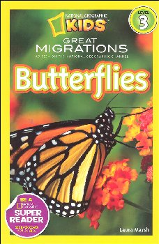 Butterflies (National Geographic Reader Level 3)