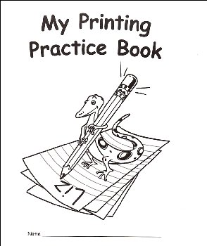 My Own Books - My Printing Practice Book (Traditional Manuscript)