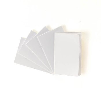 "White Blank Books (2.75"" x 4.25"") package of 20"