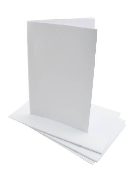 "White Blank Books (4.25"" x 5.5"") package of 20"