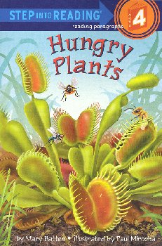 Hungry Plants (Step into Reading 4)
