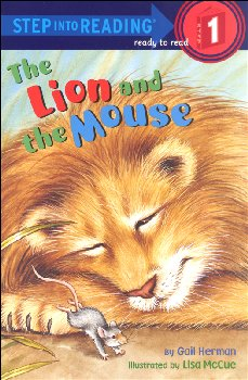 Lion and the Mouse (Step into Reading 1)