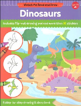 Dinosaurs Activity Book (Watch Me Read and Draw)