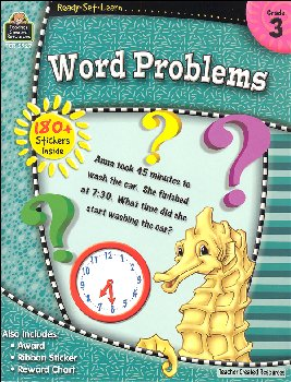 Word Problems Grade 3 (Ready, Set, Learn)