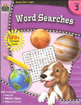 Word Searches Grade 3 (Ready, Set, Learn)