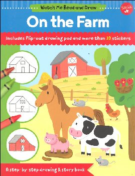 On the Farm Activity Book (Watch Me Read and Draw)
