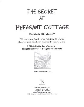 Secret At Pheasant Cottage Mini-Guide