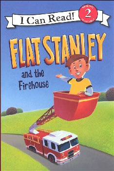 Flat Stanley and the Firehouse (I Can Read! Level 2)