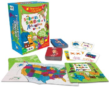 Scrambled States of America Game Deluxe Edition