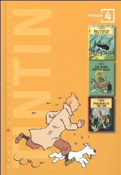 Adventures of Tintin: Volume 4