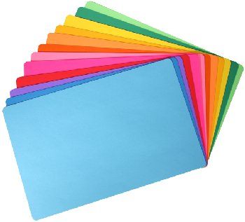 Mighty Bright Placemats-24 Placemats(card stk