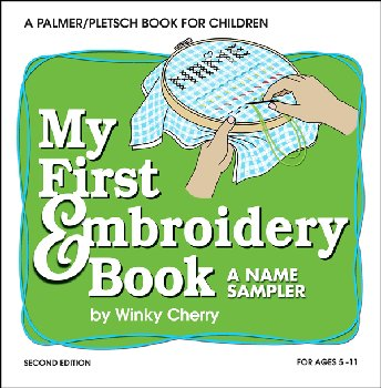 My First Embroidery Book & Kit