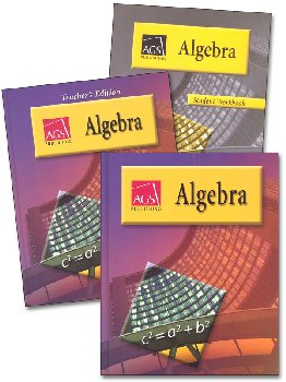 AGS Algebra I Homeschool Bundle