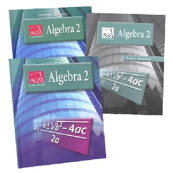AGS Algebra II Homeschool Bundle