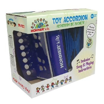 Toy Accordion Blue