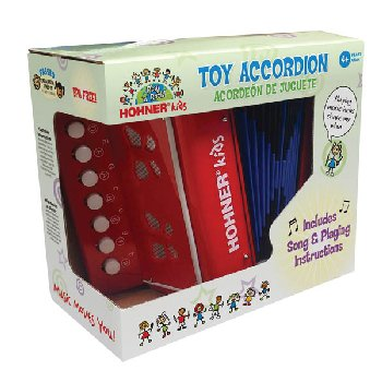 Toy Accordion Red