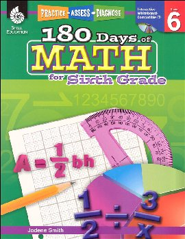 180 Days of Math - Grade 6