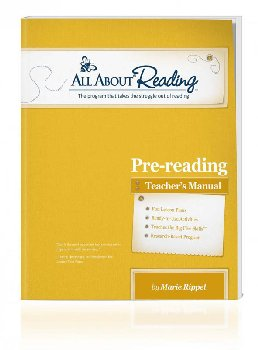 All About Reading Pre-Reading Teacher Manual