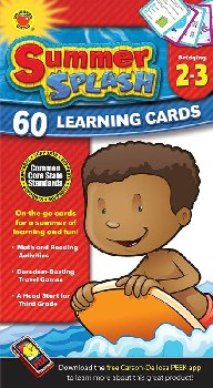 Summer Splash Learning Cards Grades 2-3