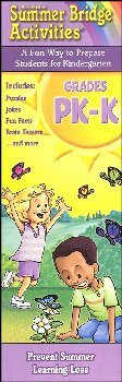 Summer Bridge Activities Card Set Grades PK-K